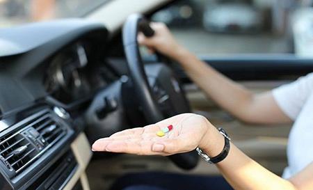 Какие лекарства запрещены за рулем