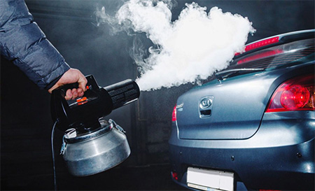 Сухой туман для автомобиля. Что это и зачем его использовать?